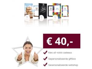 Eigen Keuze Kerstpakket 40 euro